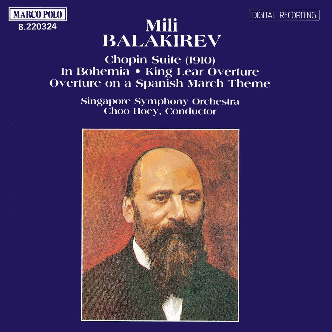 Balakirev: Chopin Suite / Overtures