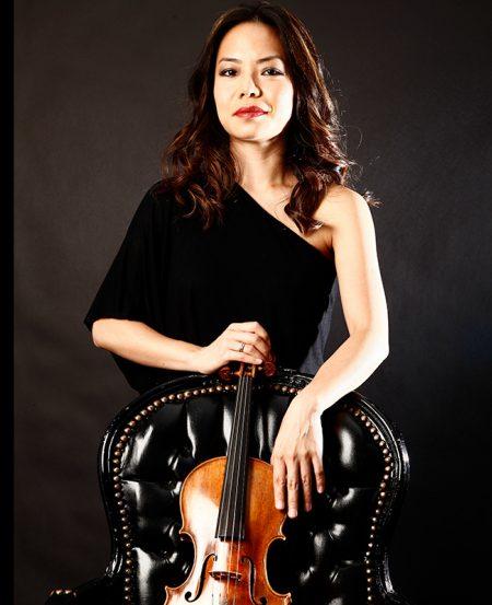 Singaporean violinist Kam Ning
