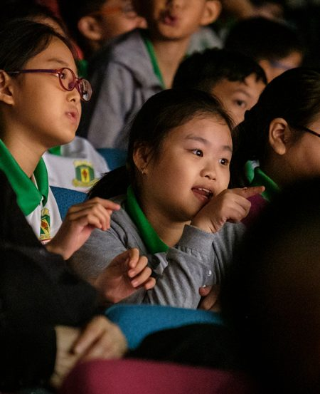 The student audience that caught the SNYO
