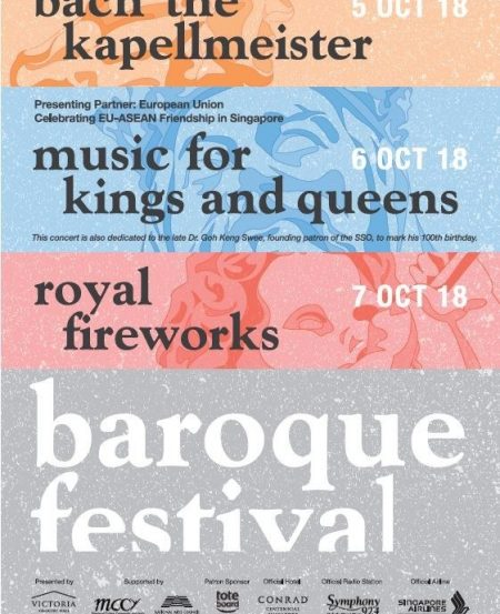 "The EU Delegation in Singapore is Presenting Partner for the SSO Baroque Festival's ""Music for Kings and Queens"" concert."