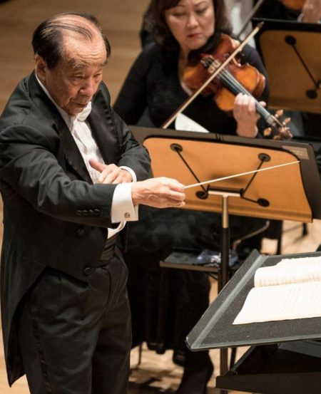 Maestro Choo Hoey's last performance with the SSO was at its 35th anniversary concert, in 2014.