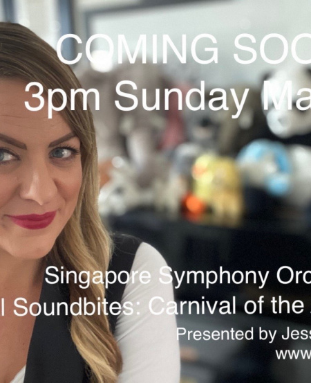 Conductor Jessica Gethin and the SSO bring us a lovely activity-filled video series, featuring Saint-Saën's Carnival of the Animals.
