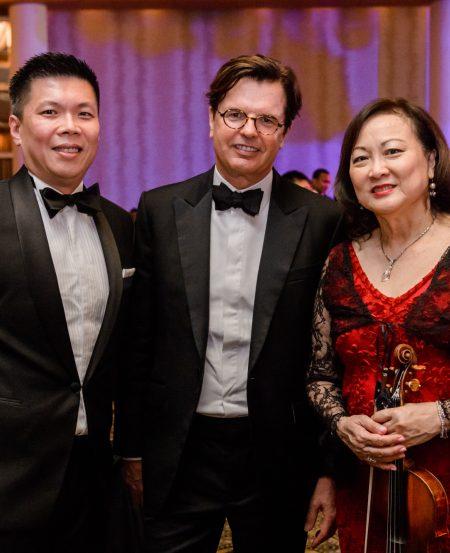 Chng Hak-Peng, Mark Florance & Lynnette Seah