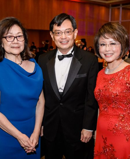 Dorothy Chan, Minister Heng Swee Keat & Dr Lily Neo