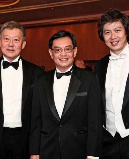 Goh Yew Lin, Minister Heng Swee Keat, Joshua Tan
