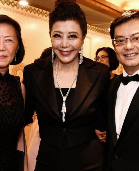 Kwan Lui, Grace Yeh, Minister Heng Swee Keat