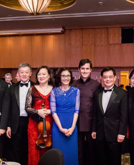 Odile Benjamin, Joshua Tan, Goh Yew Lin, Lynnette Seah, Mrs Heng Swee Keat, Charlie Siem, Minister Heng Swee Keat, Prof. Chan Heng Chee, Alemay Fernandez