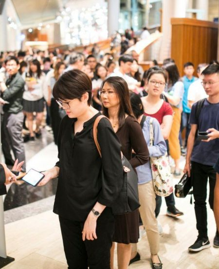 More than 1,500 concertgoers came to catch the SNYO at the Esplanade Concert Hall