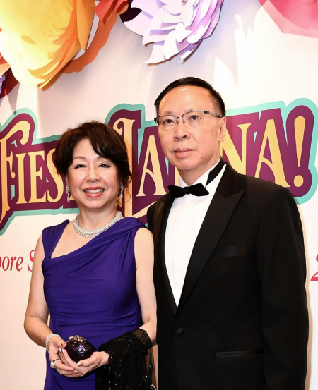 Aside from being the Principal Champion of the Singapore Symphony Children's Choir, Mr and Mrs Ho are also strong supporters of SSO's annual Benefit Dinner.
