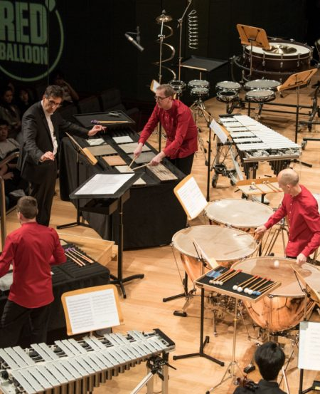 The SSO presented a heart-pounding featuring SSO Principal Timpanist Christian Schiøler and guest percussion duo Maraca2.