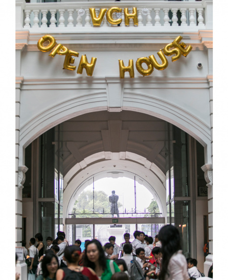 Victoria Concert Hall Open House, where visitors of all ages are invited to explore the building, learn about its history, and take part in various activities around the venue.
