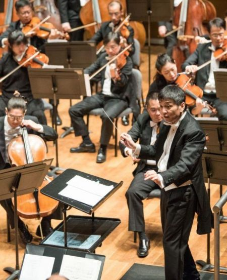 SSO's professional musicians that make up the orchestra rehearse about three times for each week's concert. (Photo Credit: Jack Yam)