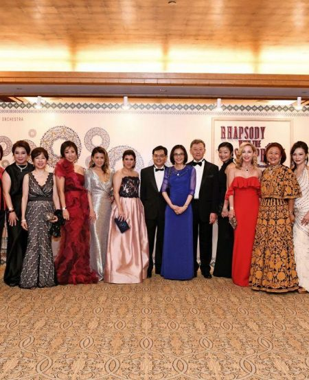 The SSO Ladies' League with guest of honour Minister Heng Swee Keat and Mrs Heng.