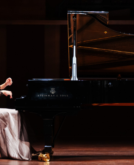 Multi-award-winning Kseniia Vokhmianina who has gained critical and audience attention as a concerto soloist, recitalist and chamber musician. At 18, Kseniia was awarded the Lee Foundation Scholarship and the Tuition Grant from the Ministry of Education of Singapore to pursue a Diploma in Music Performance at the Nanyang Academy of Fine Arts (Singapore).   [Photo credit: Nathaniel Lim]