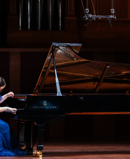 Taiwanese pianist Chang Yun-Hua is an accomplished soloist, who also has been involved in numerous chamber music and collaborative piano performances at the Yong Siew Toh Conservatory of Music.  [Photo credit: Nathaniel Lim]
