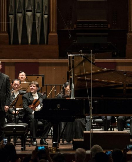 Steven Osborne plays Mozart Piano Concerto No. 12 in A major