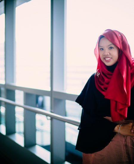 Syafiqah 'Adha Mohd Sallehin. (Photo Credit: Jeff Low)