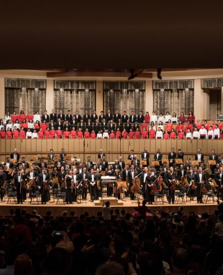 The Singapore Symphony Orchestra joined forces with the Singapore Symphony Chorus in this National Day showcase.