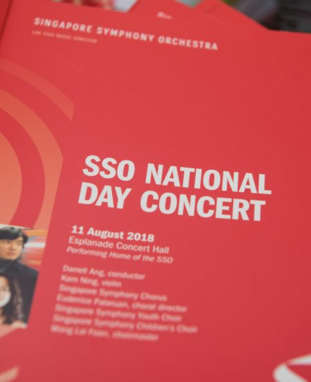 The SSO performed its first livestream via Facebook from the Esplanade Concert Hall.