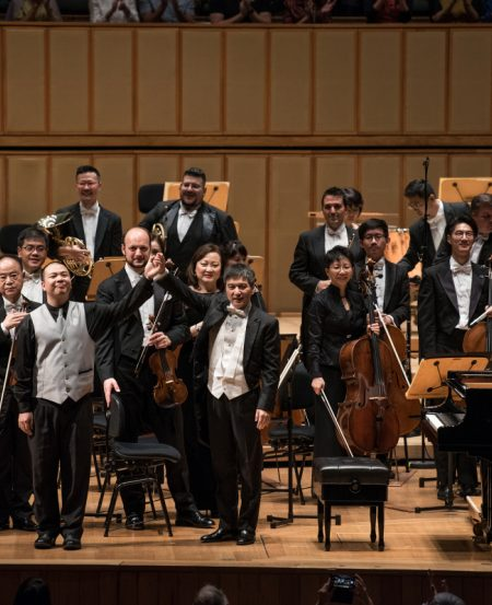 The SSO celebrated its 40th year of music-making with a concert featuring the meditative mysteries of Ives' The Unanswered Question and the majestic strides of Beethoven's Emperor Piano Concerto.
