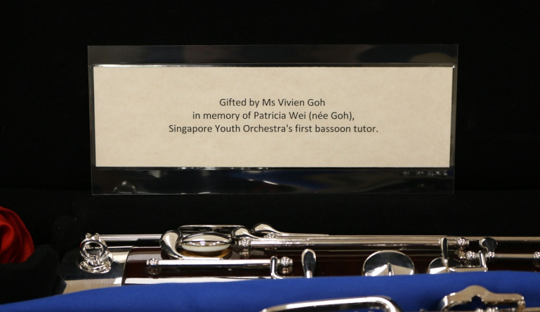 A Gift of Music for the Singapore National Youth Orchestra