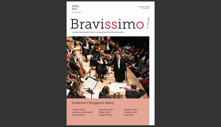 Bravissimo! April 2017