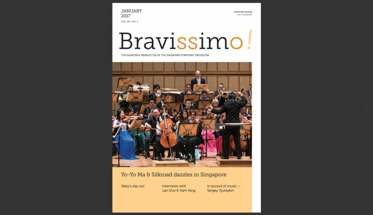 Bravissimo! January 2017