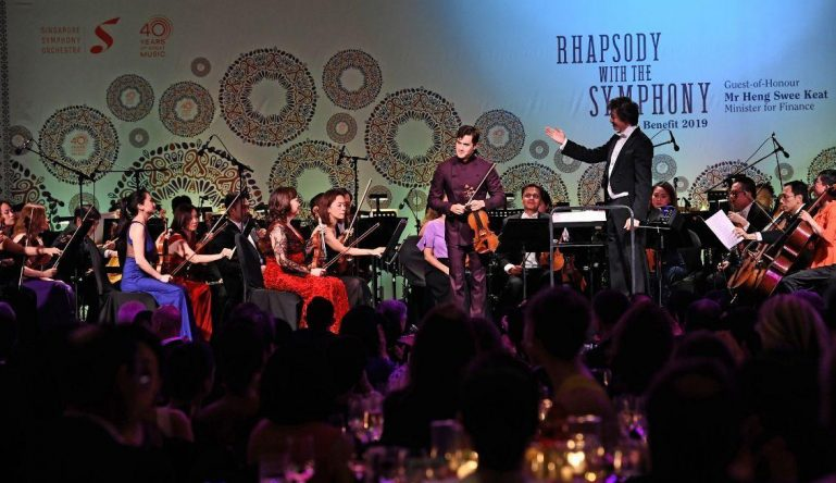 """Rhapsody with the Symphony"" raises $1.16m for SSO"