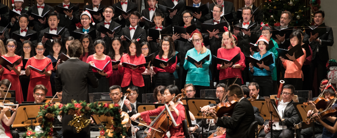 SSO Christmas Concert at the Esplanade