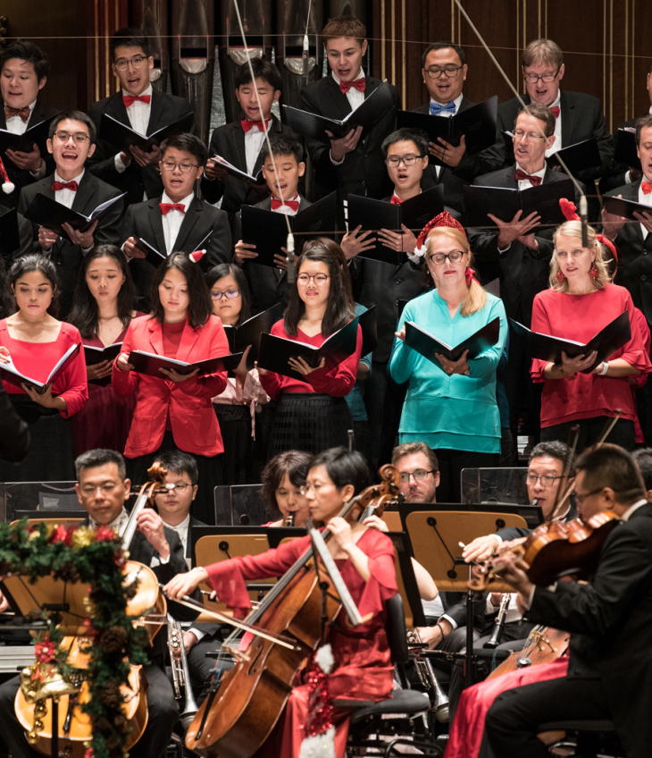 SSO Christmas Concert at the Esplanade
