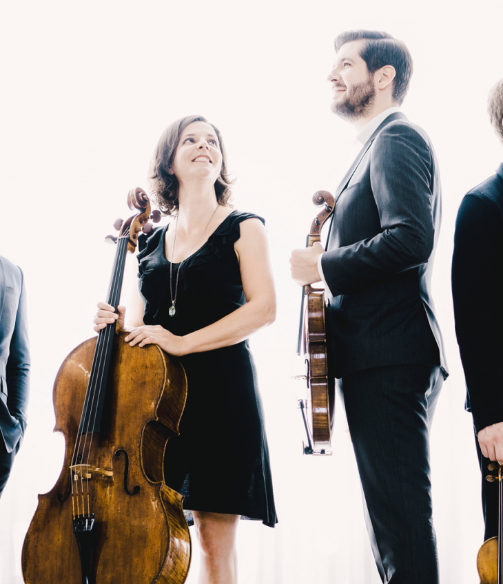 The Stradivari Quartet Plays Beethoven