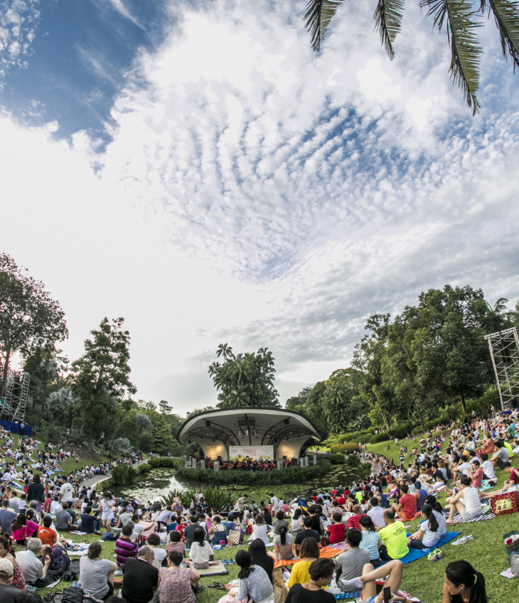 SPH Gift of Music Series: The Straits Times Concert in the Gardens