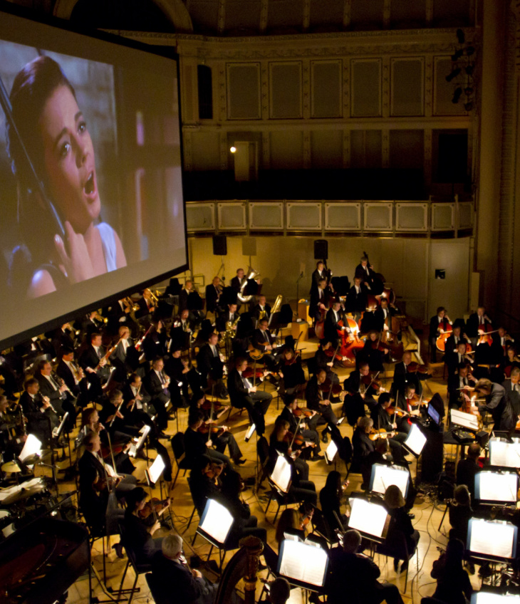 LEONARD BERNSTEIN AT 100 – WEST SIDE STORY – FILM WITH LIVE ORCHESTRA