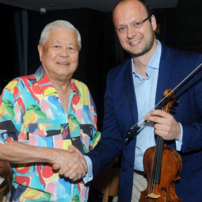 """A SPECIAL BIRTHDAY PRESENT FOR MR GK GOH AND THE SSO"""