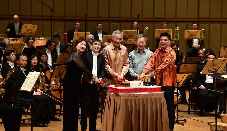 """Message from PM Lee: """"Music to Singaporeans' ears and joy to their hearts"""""""