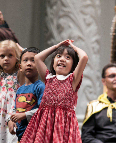 Consider children's concerts to be an appropriate time to unleash your inner child.