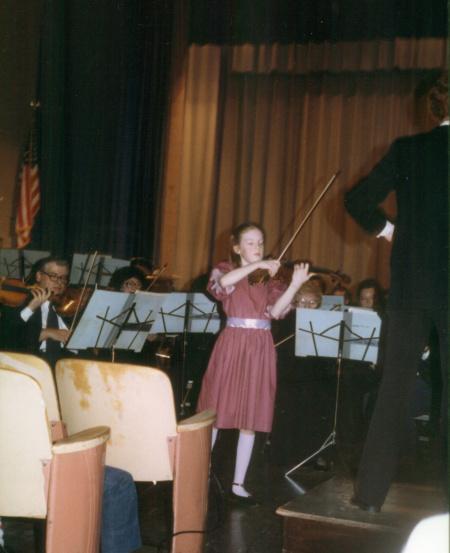 Rachel at age 11