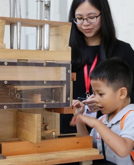 Activities include hands-on demonstrations