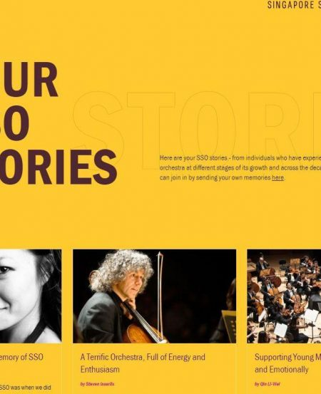 Read stories from artistes, concertgoers and former staff who share their memories and experiences with the orchestra.