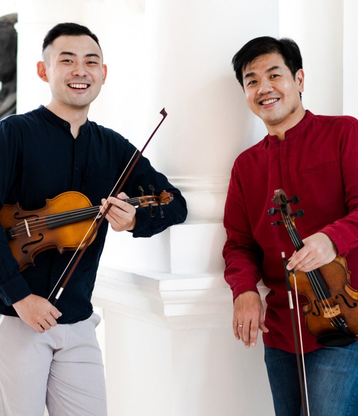 Intimate Moments 乐享时光: Duo! – Chan Yoong-Han & Zhao Tian