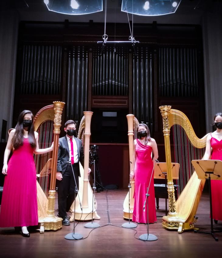 Around The World With The Harp