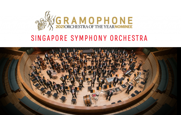 Concert booklets are published for every SSO performance, which are also available for download online. (Photo Credit: Jack Yam)