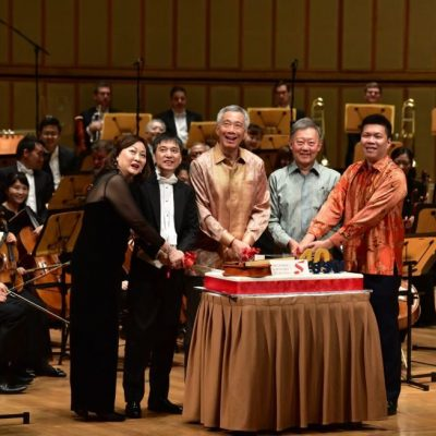 SSO CELEBRATES 40TH ANNIVERSARY WITH PM LEE HSIEN LOONG