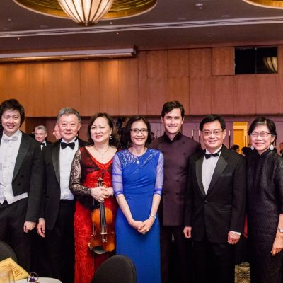 [SINGAPORE TATLER MAGAZINE] SSO BENEFIT GALA DINNER: RHAPSODY WITH THE SYMPHONY