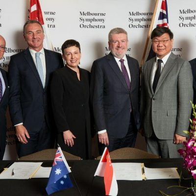 SINGAPORE SYMPHONY AND MELBOURNE SYMPHONY TO COLLABORATE FROM 2019