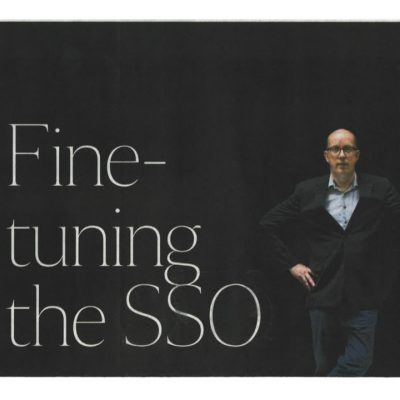 [THE STRAITS TIMES] FINE-TUNING THE SSO