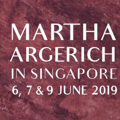 MARTHA ARGERICH RETURNS – LIVE IN SINGAPORE