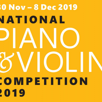 NATIONAL PIANO & VIOLIN COMPETITION 2019: TICKETS NOW ON SALE