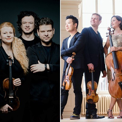 VCHPRESENTS: CHAMBER THE STRADIVARI QUARTET; THE PAVEL HAAS QUARTET