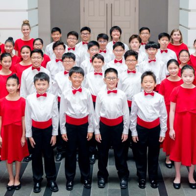 [THE STRAITS TIMES] EXCITED TO SING AT THE ISTANA